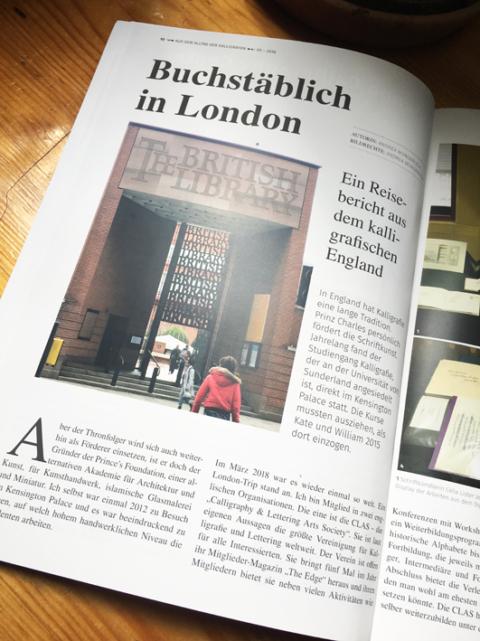 London 2018 – mein Reisebericht in der aktuellen Handschrift