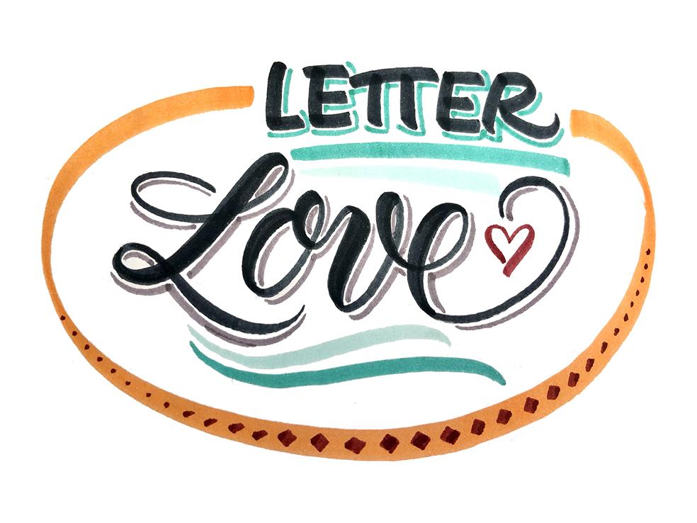 """""""Letter Love"""" – Zoom-Handlettering-Workshop<br /> Donnerstag, 18. 03.2021, 18.00 - 20.30 Uhr"""