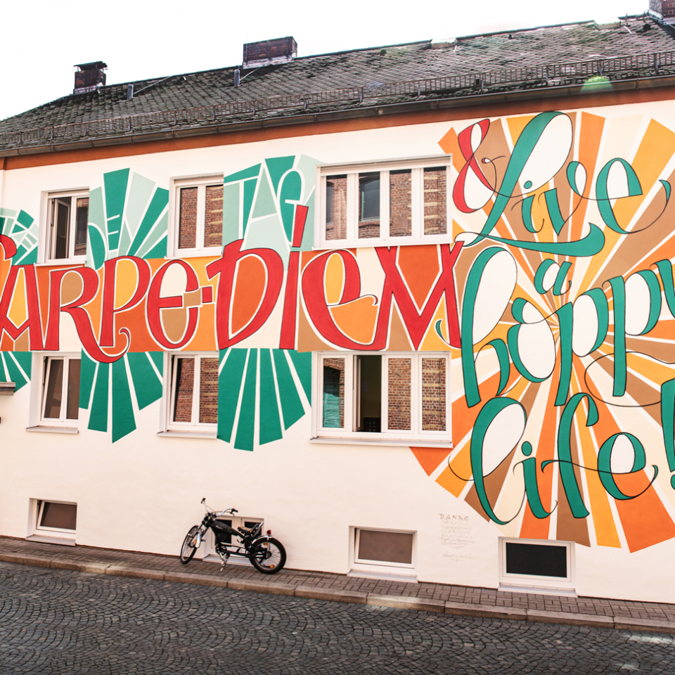 Streetart – Fassade Maisel Brauerei